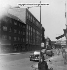 Westminster Bridge Road, Lambeth 1960