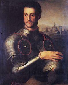 Portrait of the Grand Duke Cosimo I de' Medici  Agnolo Bronzino