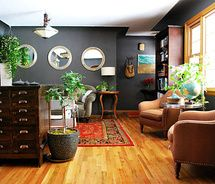 Living Room Paint Ideas With Dark Wood Trim the best neutral paint colours to update dark wood trim | dark