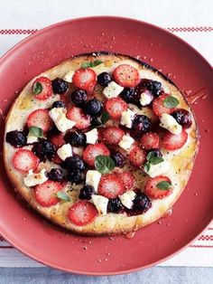 berry berry pizza  【ELLE a table】ベリーベリーピッツァレシピ エル・オンライン