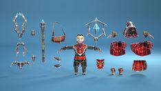 Animated Mage Hero Set - Asset Store