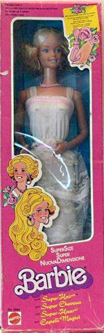 1978 Supersize Super Hair Barbie, BARBIE 45cms FRIENDS NRFB ARCHIVES