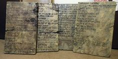 Vampire The Masquerade LARP Props: Tablets by Magpieb0nes