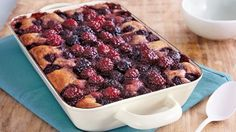 Surprise your guests with this delicious cobbler that's baked with blackberries and sangria - a wonderful dessert.