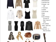 Create a capsule wardrobe Have the perfect outfit for any occassion at any time So how do you create a capsule wardrobe, what is it and why should you have one? Susie Faux came up with the concept ...