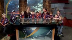 DENVER -- Colorado's Own Channel 2 News had a special group of visitors watching the show Monday night. The Cub Scouts from Den 742 in Ken Caryl spent some time, touring the TV station, getting to ...