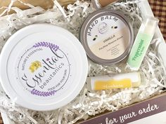 Beauty Gift Box Lip Balm Hand Balm Hand Lotion Whipped Shea Butter Foot Cream Mothers Day Gift Just Because Gift Whipped Mango Butter by EssentialBeautanics on Etsy