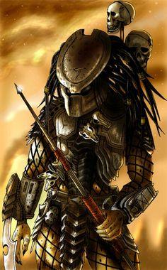 Explore the Alien, Predator, Aliens vs Predator collection - the favourite images chosen by on DeviantArt. Alien Vs Predator, Predator Helmet, Predator Movie, Predator Alien, Predator Tattoo, Wolf Predator, Aliens Movie, Alien Art, Alien Convenant