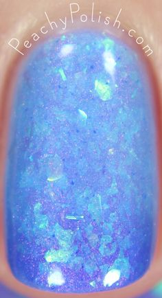 Femme Fatale Cosmetics Blue-Within-Blue Eyes | The Dunes Collection | Peachy Polish