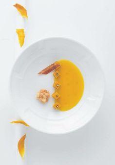 crème de potiiron (Alain Ducasse)