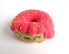 """Check out new work on my @Behance portfolio: """"Donna, donut girl - Pink frosting, Art Toy"""" http://be.net/gallery/66801771/Donna-donut-girl-Pink-frosting-Art-Toy"""