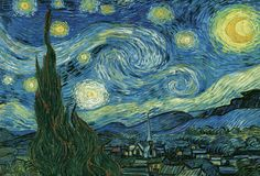 Starry Night by Vincent Van Gogh.