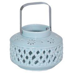 Myra Porcelain Candle Lantern