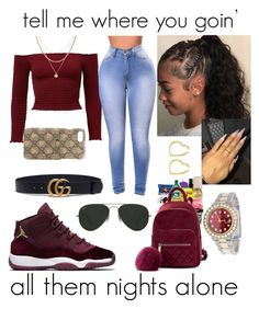 """""""tell me why we are where we are, again"""" by makaelahangelah on Polyvore featuring Luv Aj, Henri Bendel, Rolex, Gucci and Ray-Ban"""