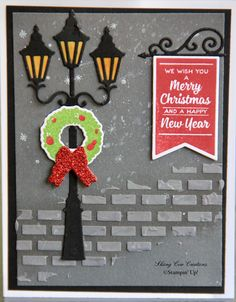 Brightly Lit Christmas Stampin Up Card Ideas 2020 30+ SU   Brightly Lit Christmas / Lamppost Dies ideas in 2020