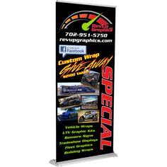 The Elite retractable banner stand is ready to present for you in seconds, anywhere at any time. The Elite is our premium banner stand and features a sleek stealthy base, adjustable pole graphic height adjustment and upgraded carrying case.