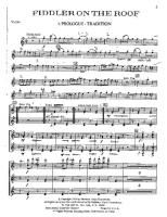 Nice Fiddler On The Roof   Whole Book   Free Downloadable Sheet Music