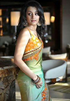 Tap my dick - Trisha Krishnan - Indian Bollywood Actress, Bollywood Girls, Indian Actresses, Beautiful Saree, Beautiful Indian Actress, Beautiful Actresses, Indian Bridal Sarees, Indian Beauty Saree, Kajal Agarwal Saree
