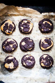 marbled dulce de leche cookies