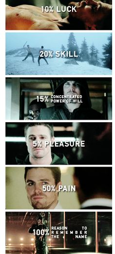 Reasons to remember the name: Oliver Queen | original edit by curtlazars.tumblr.com