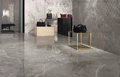 Marvel Grey Fleury is a range of grey marble look tiles part of the Marvel collection, a beautiful grey tile perfect for an elegant environment Marble Look Tile, Marble Floor, Grey Floor Tiles, Grey Flooring, Floors, Concorde, Exterior Wall Tiles, Marble City, Tile Suppliers