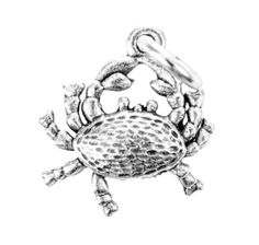Crab Charm Silver Character