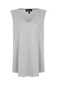 Slouchy Neck Tank Top