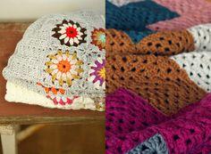 New Favorites: Granny square blankets
