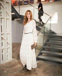 BURDA - Lace Maxi Dress #105
