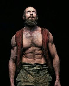 Hugh Jackman as Jean Valjean Hairy Men, Bearded Men, Scruffy Men, Hugh Wolverine, Hugh Michael Jackman, Z Cam, Hommes Sexy, Hairy Chest, The Villain