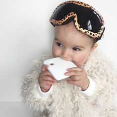 Ski ready... Ski goggles ✔️ Yeti snowsuit ✔️ White teether ✔️ Our teethers are the safest on the market. No choking hazards. Pass ALL safety standards. They are designed for the style conscious Mum and Dad out there. No garish baby paraphernalia in our collection. Only the best most stylish baby designs. Not only are our teething toys design lead, babies and toddlers love having something satisfying to chew on. Suitable for freezing for added relief from sore gums.