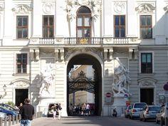 690.005-reichskanzleitrakt-02-go Php, Vienna, Louvre, Building, Travel, Viajes, Buildings, Destinations, Traveling