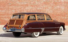 1949 Buick Roadmaster Estate Wagon Maintenance of old vehicles: the material for new cogs/casters/gears/pads could be cast polyamide which I (Cast polyamide) can produce Buick Wagon, Buick Cars, Desoto Cars, Buick Gmc, Classic Motors, Classic Cars, Vintage Cars, Antique Cars, Car Station