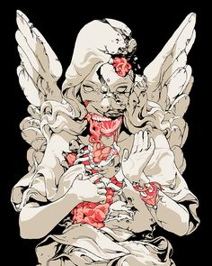 Sachin Teng Illustration   viscera