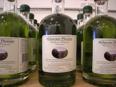 Delaware Phoenix is an awesome artisanal distiller, they make Bourbon, Rye and Corn Whiskey. BUT... what YOU, my dears, want, is their line of Absinthe. Traditional, American made, wormwood and all... oh Green Fairy!
