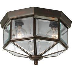 Progress Lighting Beveled Glass Flush Mount & Reviews | Wayfair