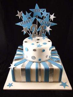 Birthday cakes for guys 21st