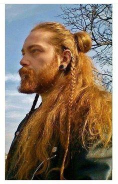 Viking hair style ❤ #guyhairstyles