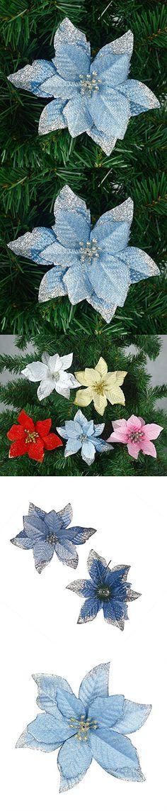 UhoMEY(TM) 6 Pcs Handmade Artificial Flower Bouquet Wedding Decoration DIY Wreath