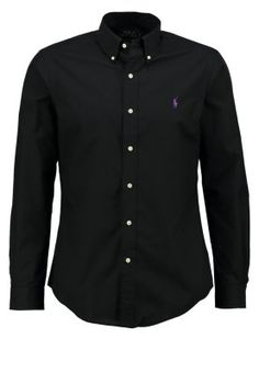 Polo Ralph Lauren SLIM FIT - Skjorte - polo black - Zalando.no