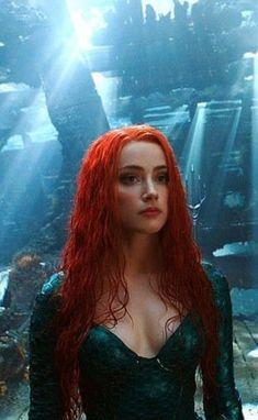 Amber Heard as Mera Iphone 10, Marvel Dc, Amber Heard Images, Amber Heart, Arte Dc Comics, Dc Heroes, The Villain, Comic Character, Dc Universe