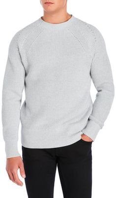 french connection Knit Raglan Sweater