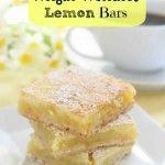 Weight Watchers Lemon Bars