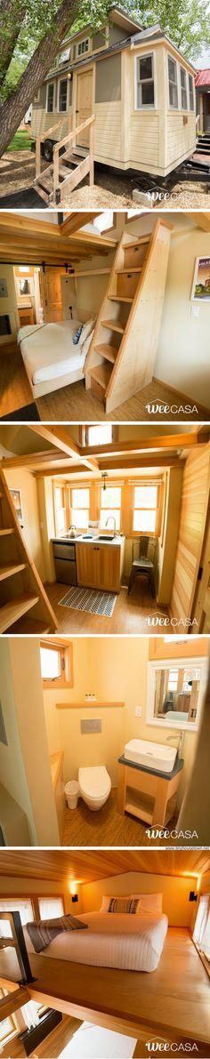 The Roaring Fork Aspen Tiny House (170 Sq Ft)
