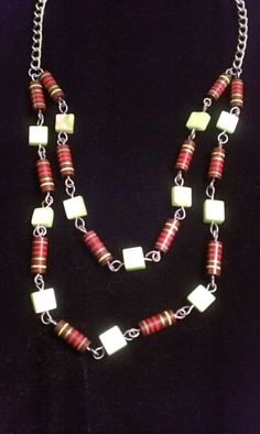 Green and Resistor Necklace Set  Upcycled by HiVoltageWare on Etsy, $29.99