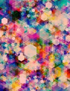 #hexagon #geometric #pattern