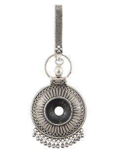 Tribal Silver Chabbi Challa on Jaypore.com