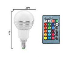LED RGB žiarovka na diaľkové ovládanie, 16 funkcií, Ipad