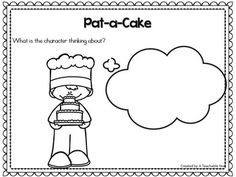 Pat-a-Cake- Nursery Rhyme This interactive nursery rhymes resource promotes phonemic awareness, rhyming skills, oral language, and literacy skills! With Pre-Kindergarteners, Kindergarteners, 1st graders & homeschoolers in mind, this engaging resource is ideal for your literacy and poetry centers. Great for guided reading & intervention work as well!{Pre-K, K, 1st}