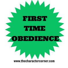 10 Tips for First Time Obedience. Excellent...I was in great need of this post.